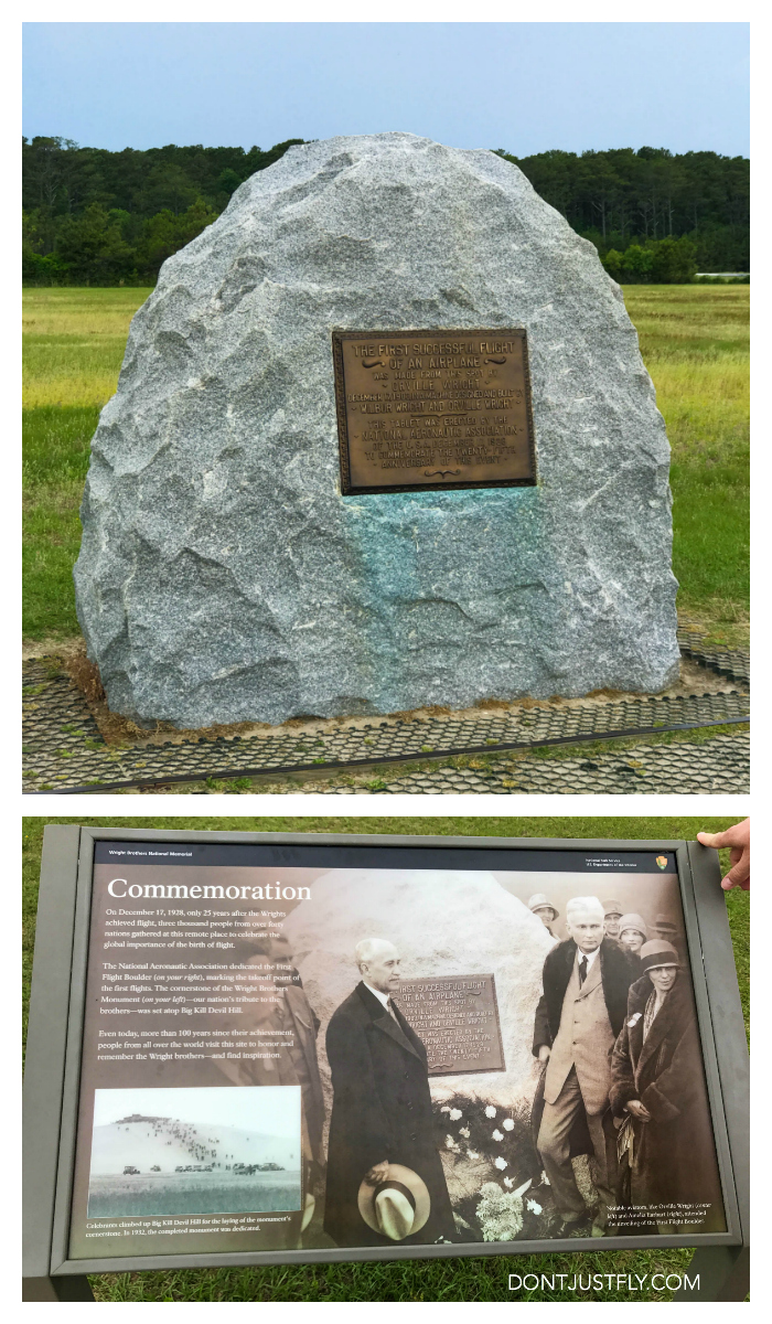 Every tech-obsessed kid needs to see the Wright Brothers Memorial in Kitty Hawk, North Carolina