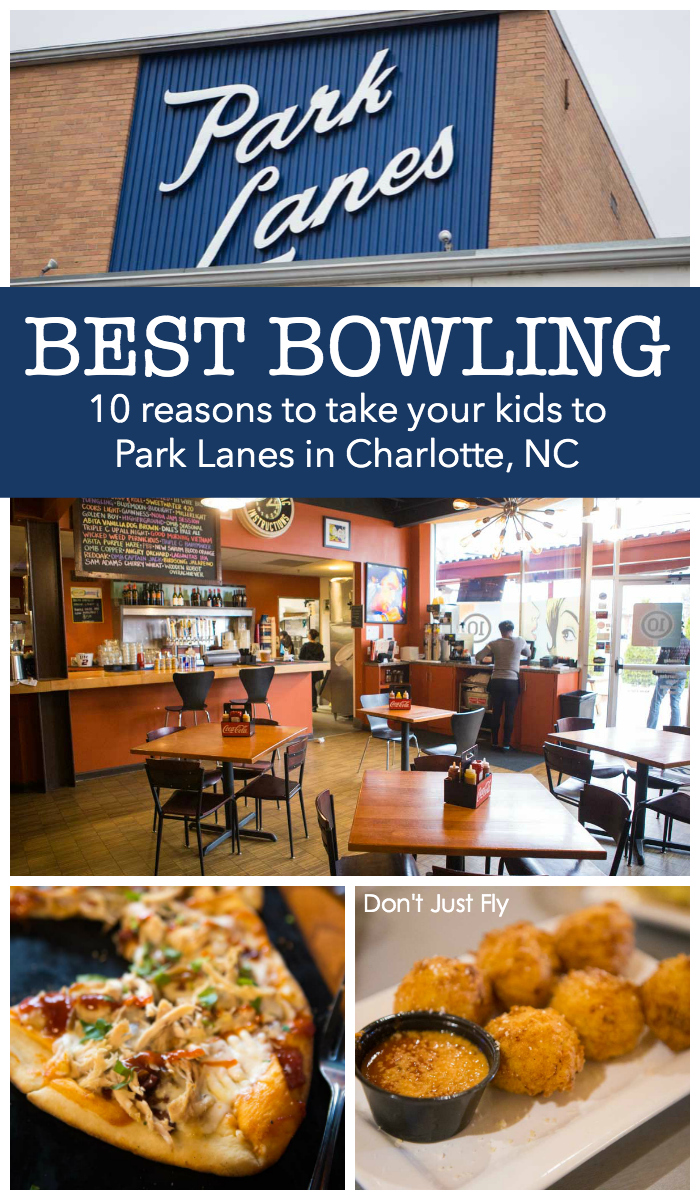 Best bowling in Charlotte: 10 Park Lanes is the perfect place to go bowling with kids