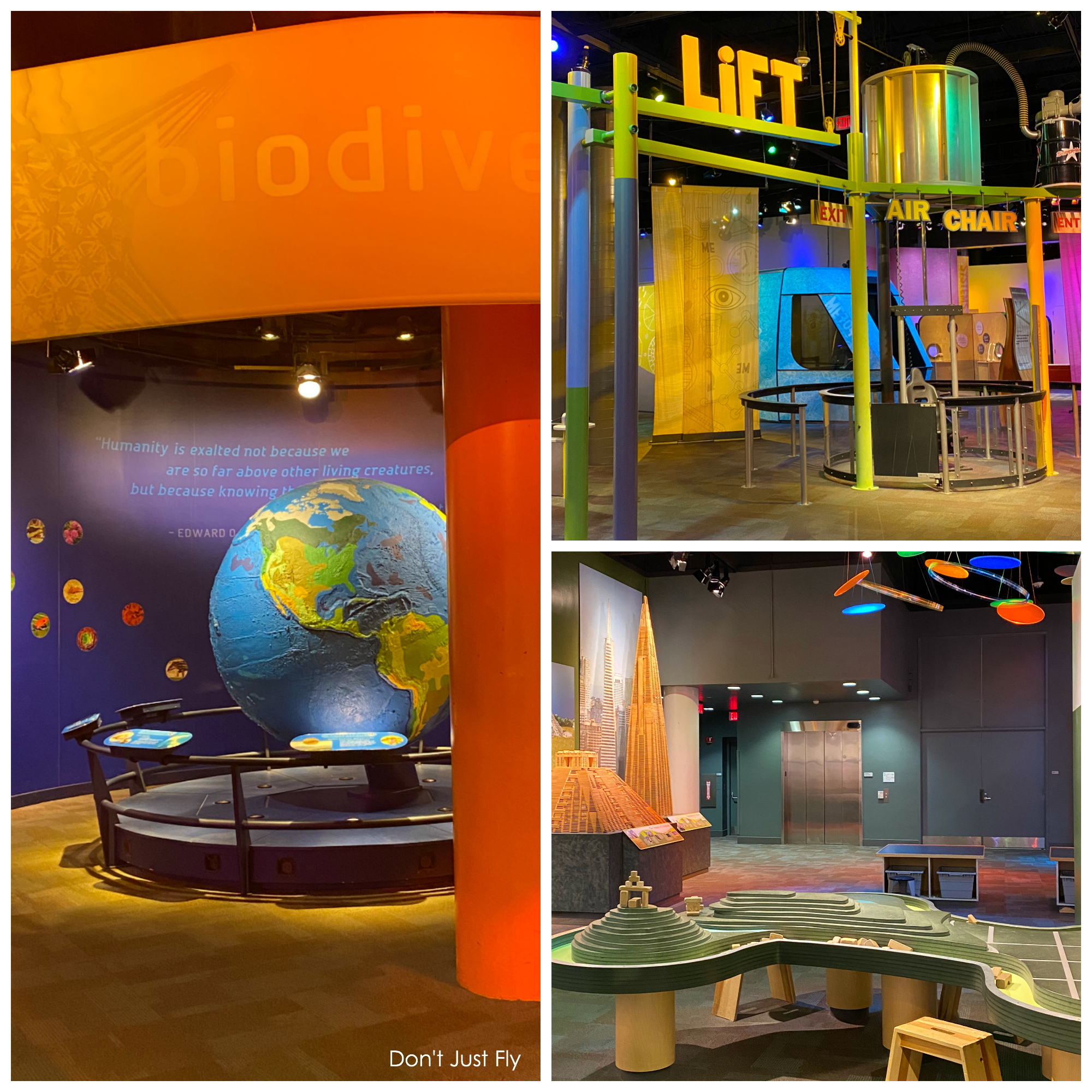 25 fun things to do at Discovery Place Science in Charlotte, NC.