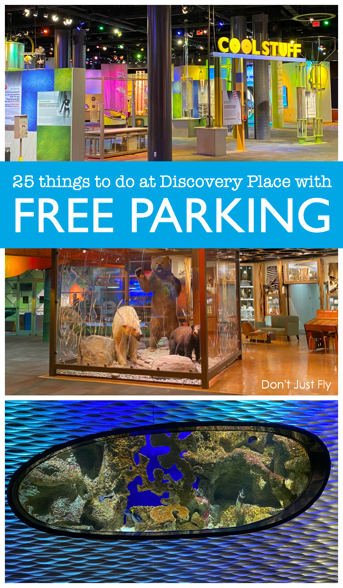 25 things to do at Discovery Place Science with free parking
