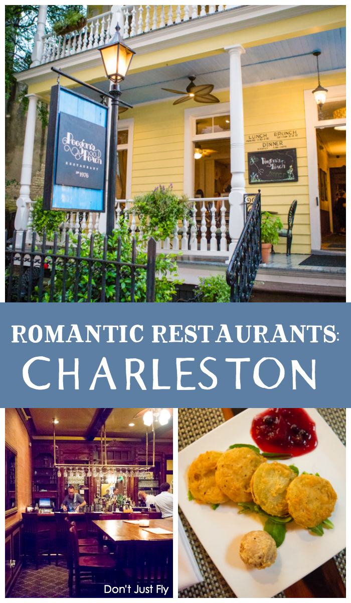 Poogan's Porch is a fantastic restaurant for a romantic weekend in Charleston.