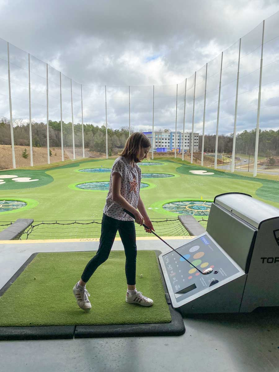 Safety tips for kids at TOPGOLF Charlotte