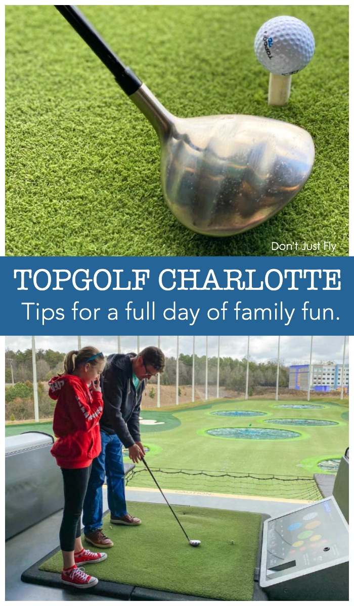 TOPGOLF Charlotte: Tips for a full day of family fun.