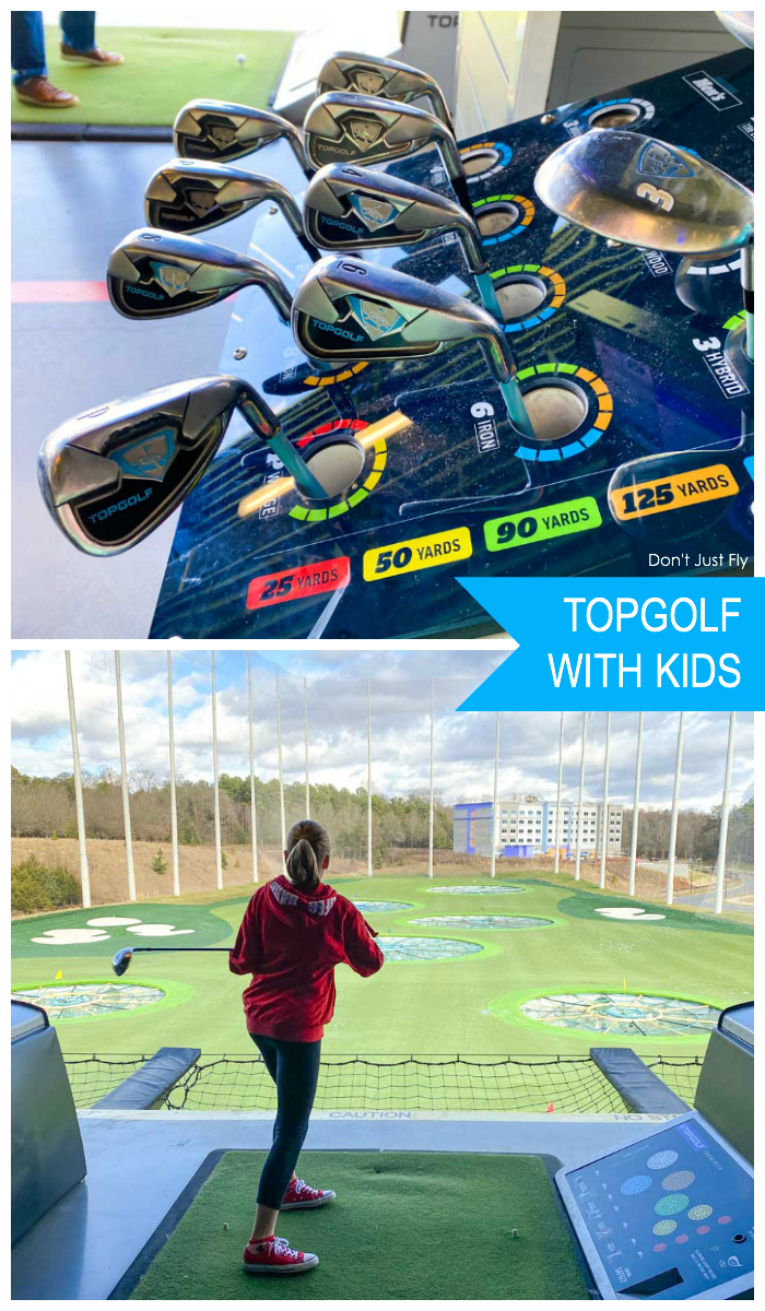 TOPGOLF with kids: Tips and tricks for a fun day golfing as a family.