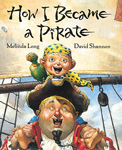 The graphic for How I Became a Pirate book