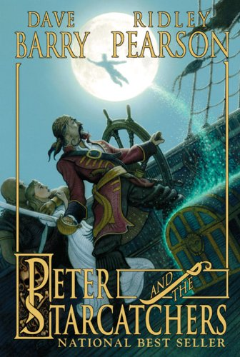 The graphic for Peter and the Starcatchers book