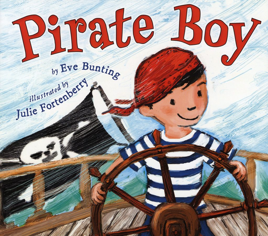 The graphic for Pirate Boy book