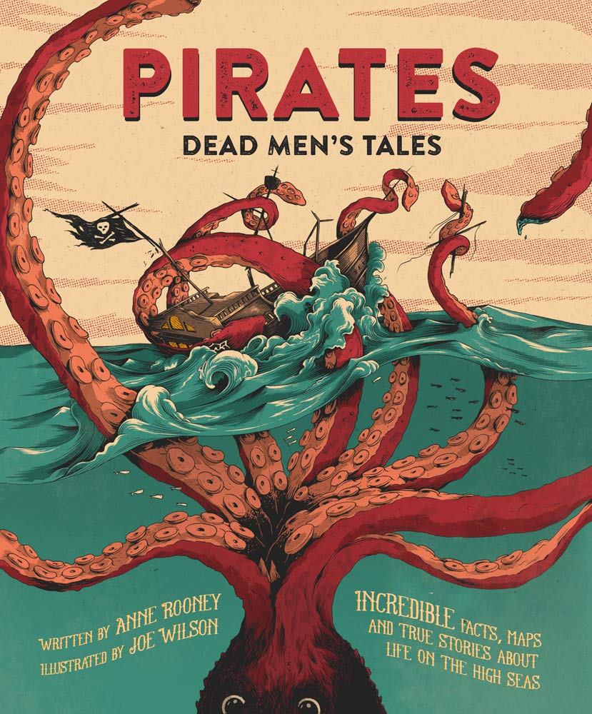 The graphic for Pirates Dead Mens Tales book