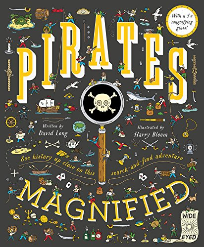 The graphic for Pirates Magnified book