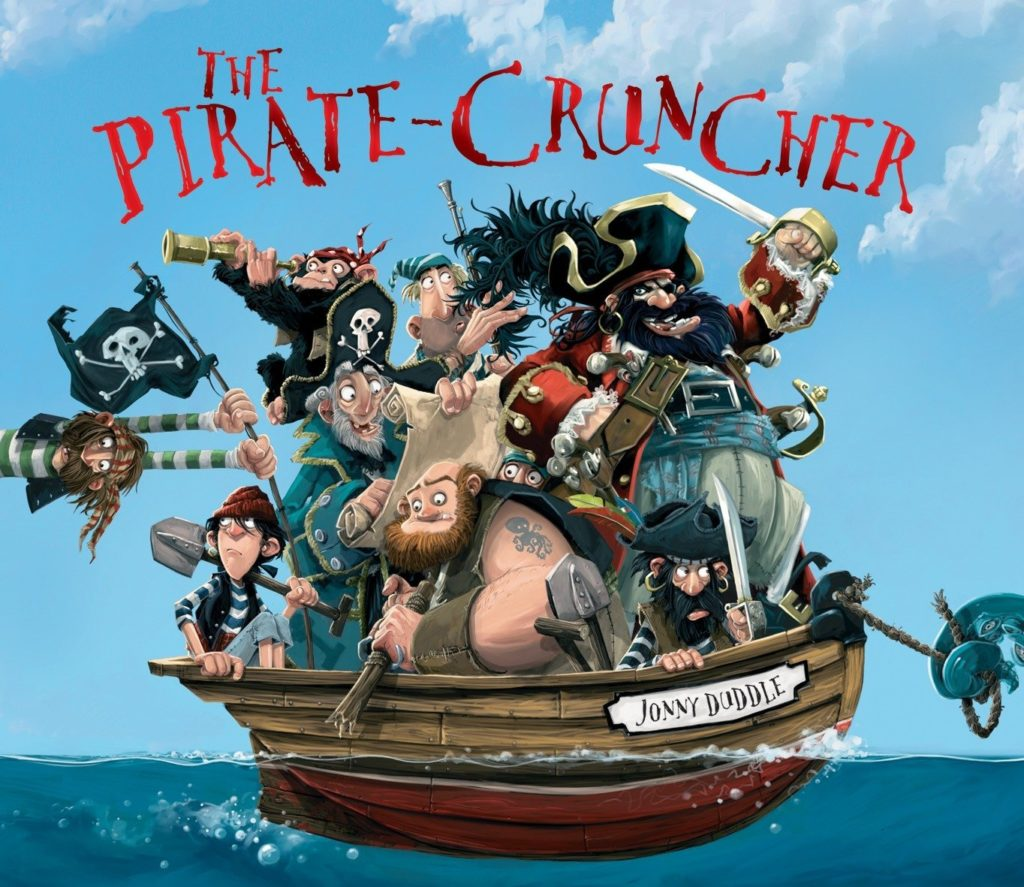 The graphic for The Pirate Cruncher book
