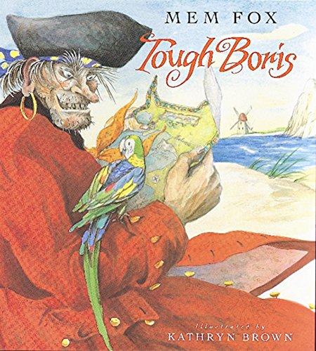 The graphic for Tough Boris book
