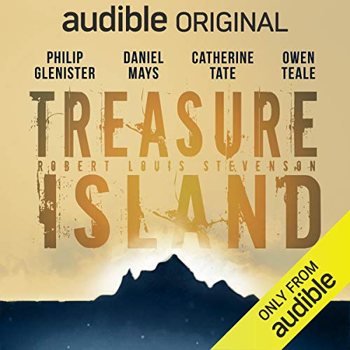 The graphic for Treasure Island on Audible.